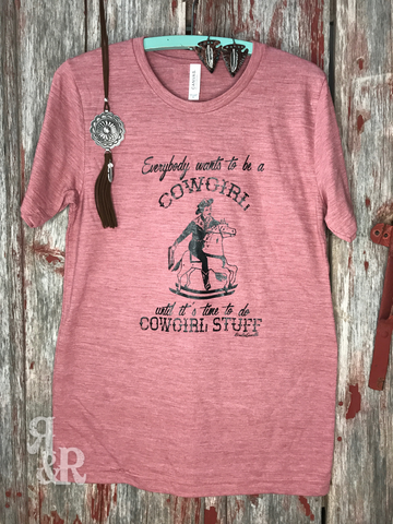 Everybody Wants To Be A Cowgirl - Ropes and Rhinestones