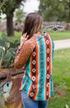 Hometown Harvest Serape Top