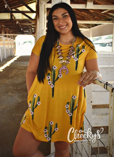 Honey Cactus Tunic