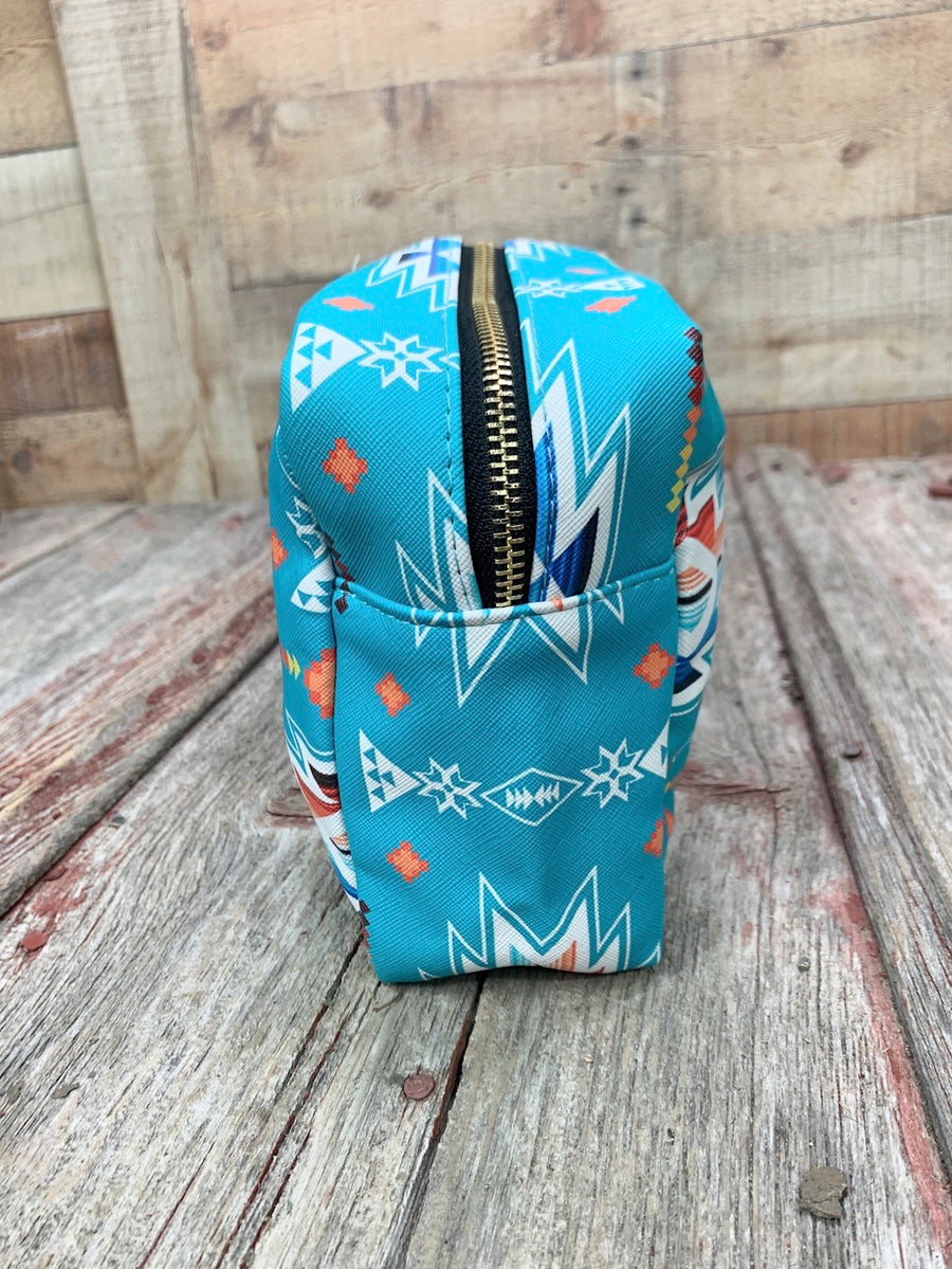 Southern Aztec Serape Travel Bag