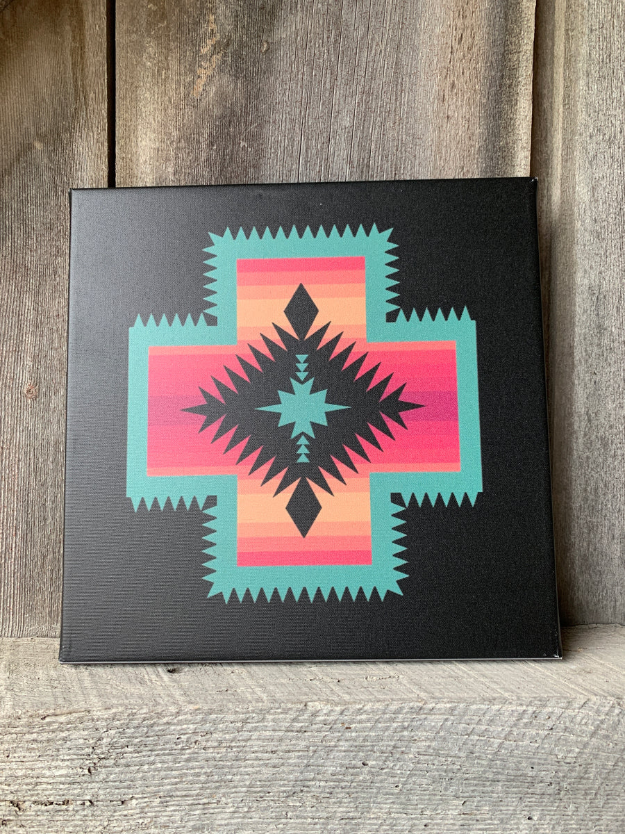 Adobe Alpine Aztec Canvas