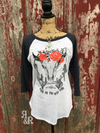 Walk On The Wild Side Raglan