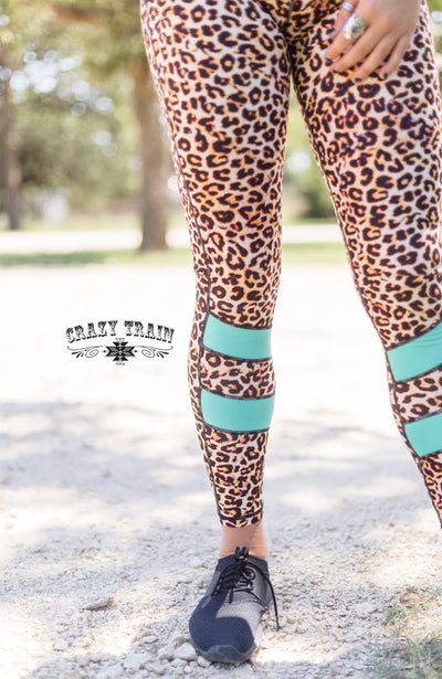 Lounging Leopard Yoga Pants