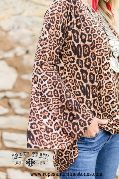 Knot For Long Leopard Top