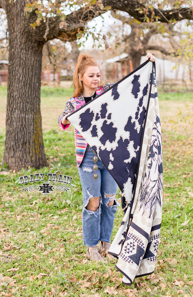 Kids Cattle Cover Blanket