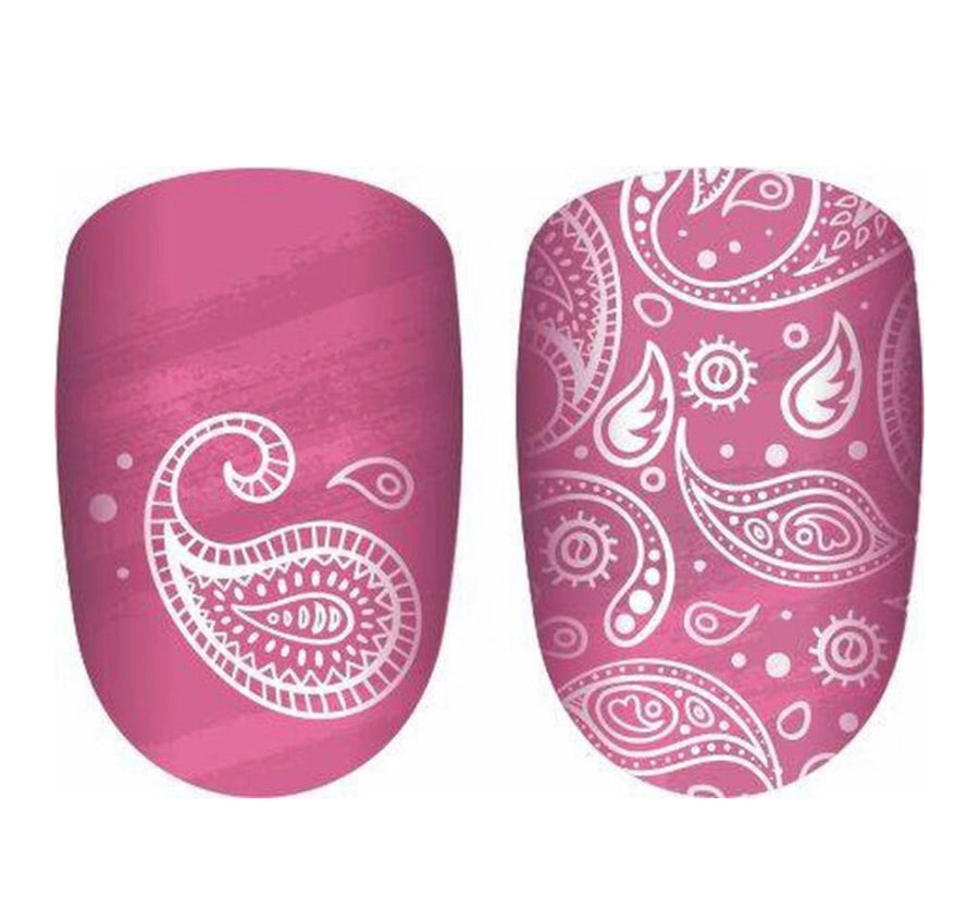 Paisley Passion Nail Polish Strips