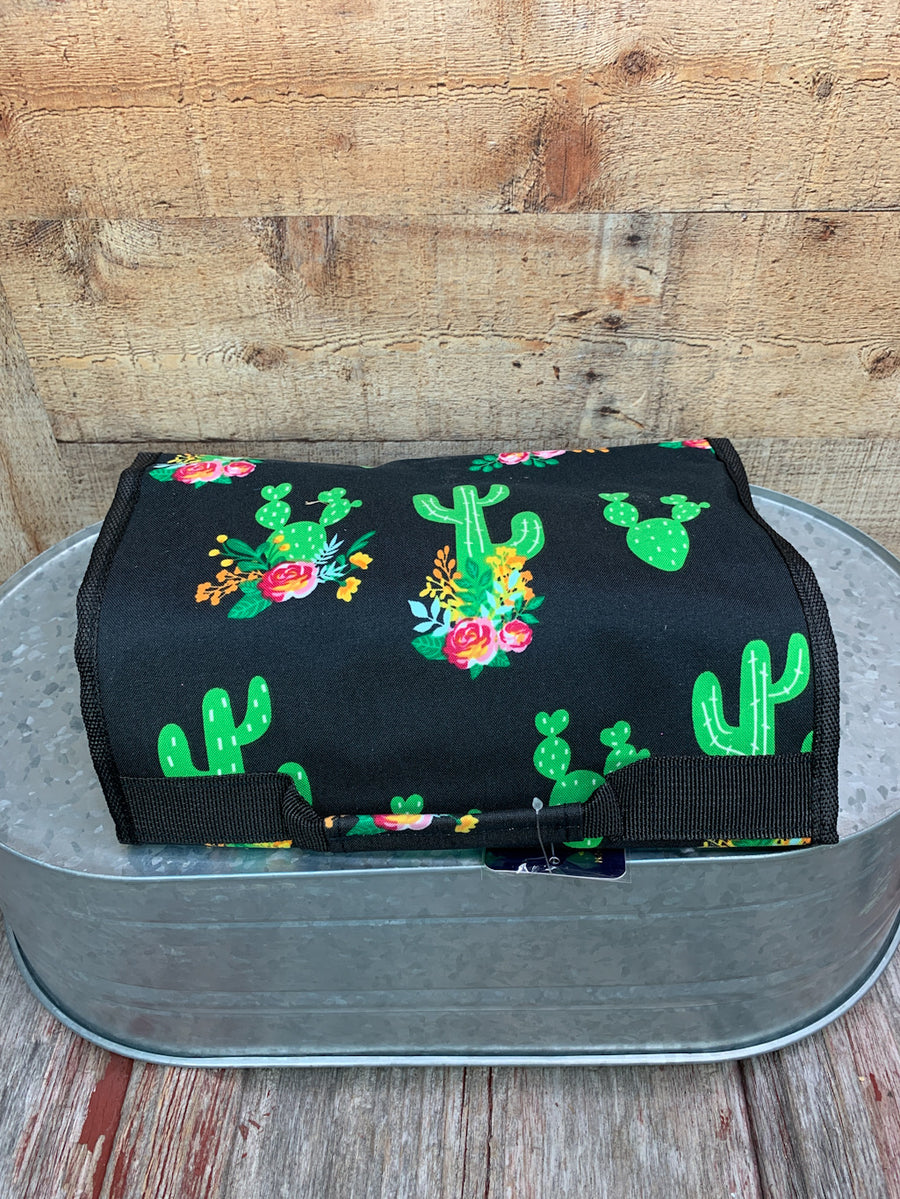 Cactus Print Traveling Toiletry Bag
