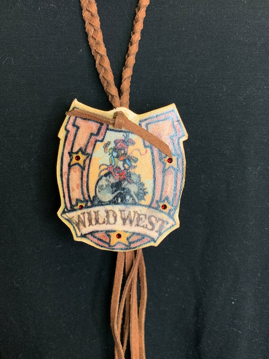 Wild West Leather Necklace