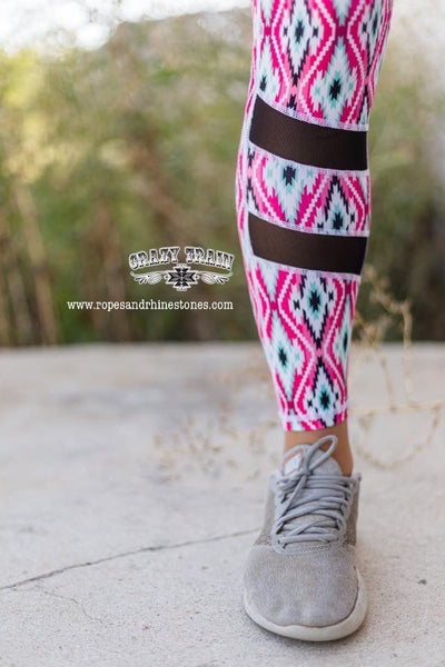Pretty Woman Aztec Yoga Pants