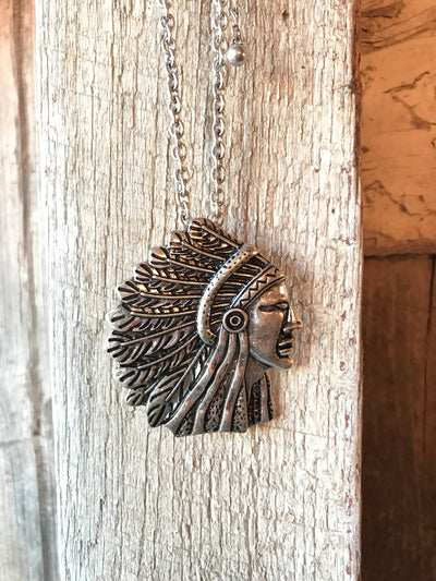 Indian Chief Necklace Set