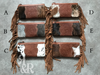 Cowhide & Leather Studded Purse - Ropes and Rhinestones