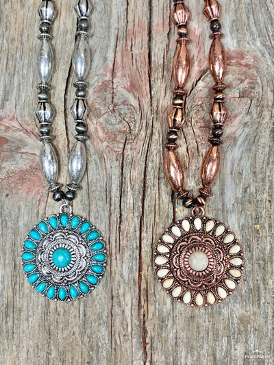 Concho Sun Necklace
