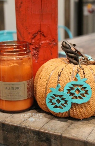 Pumpkin Spice Earrings