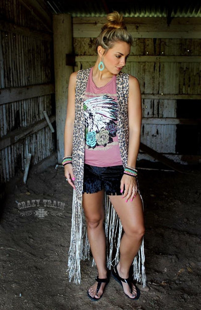 Born To Be Wild Studded Duster - Ropes and Rhinestones