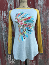 Indian Headdress Longsleeve Tee