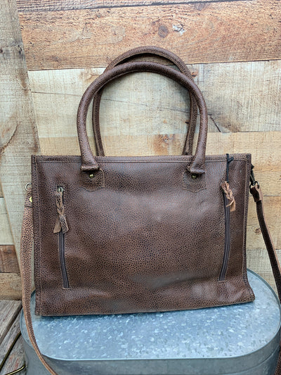 Cowgirl Cowhide Business Tote