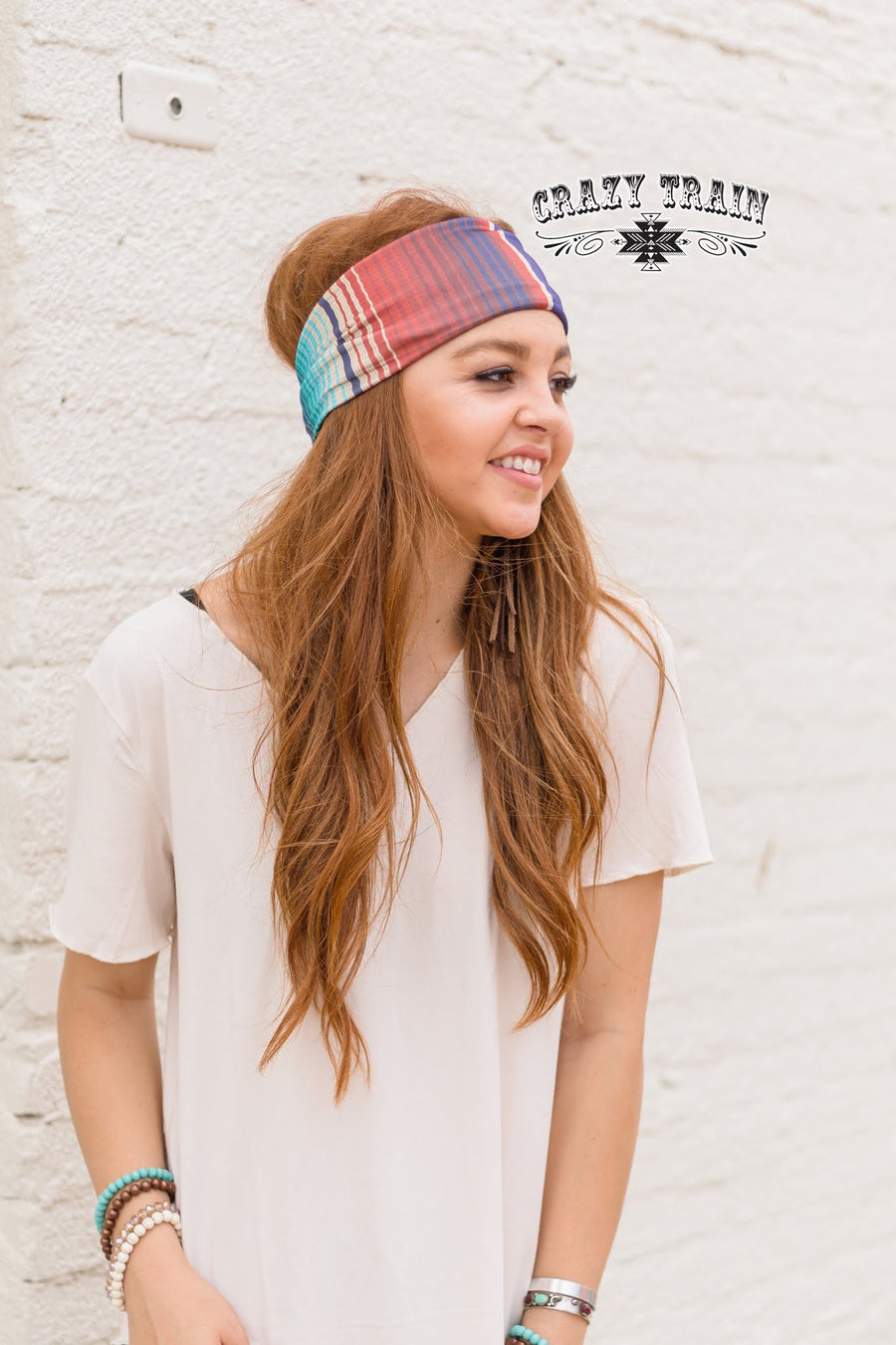 July 4 Serape Headband
