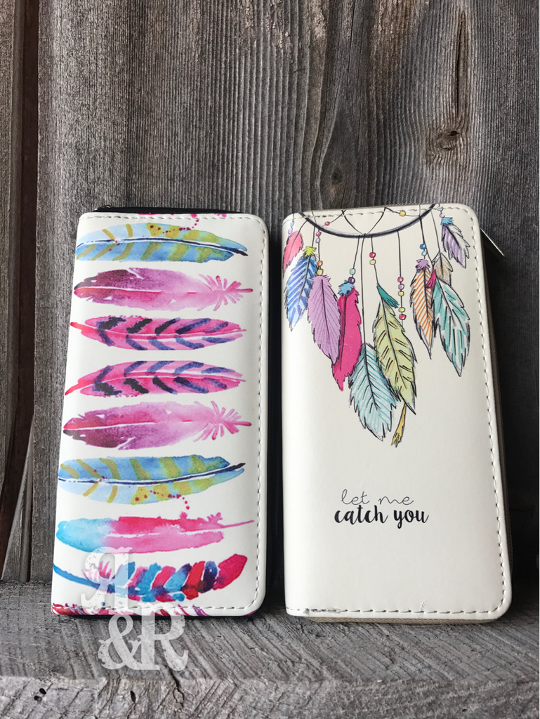Feather or Dream Catcher Wallet