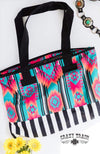 Fly Girl Aztec & Stripes Tote