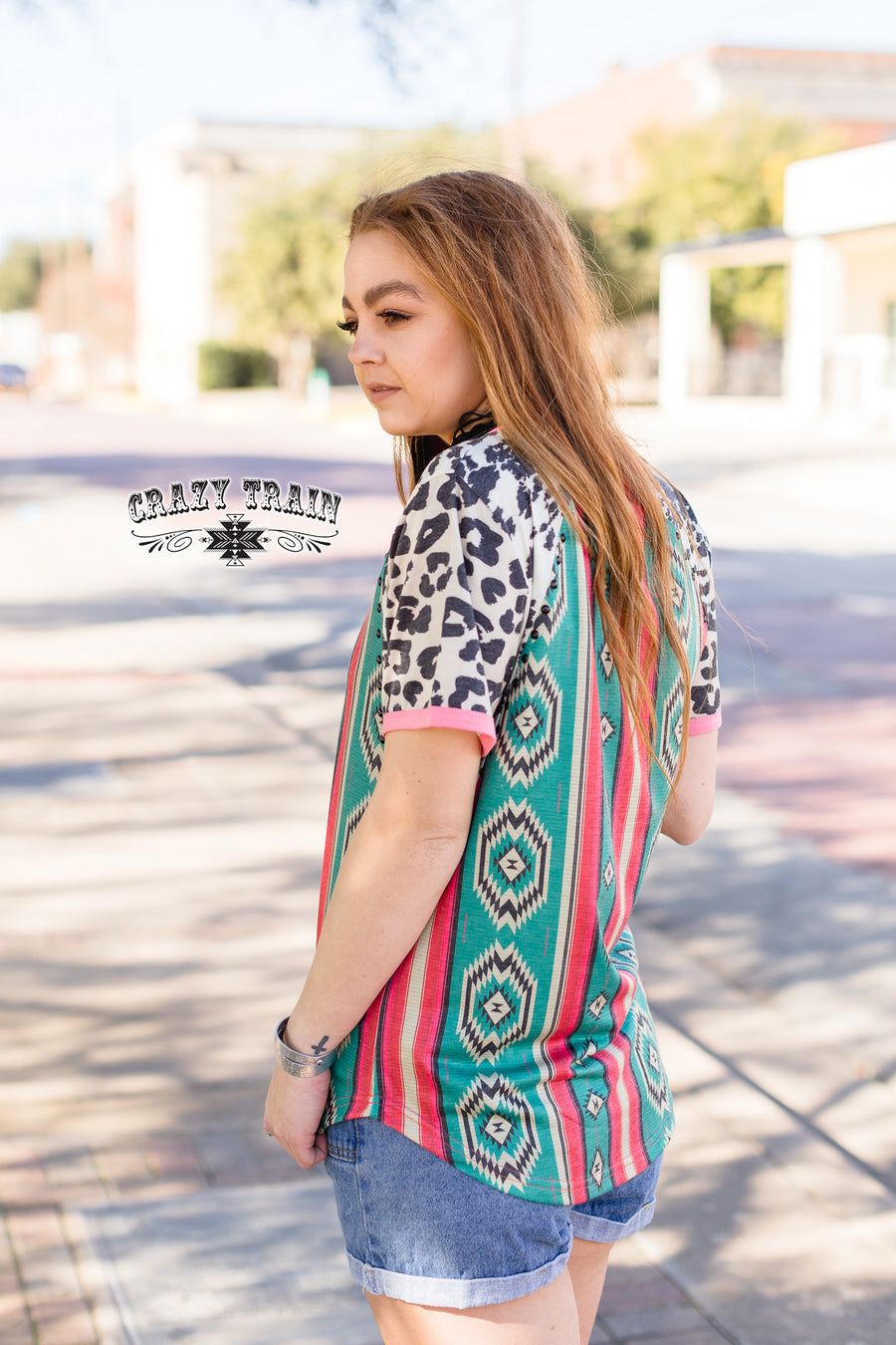Happy Trails Aztec Top