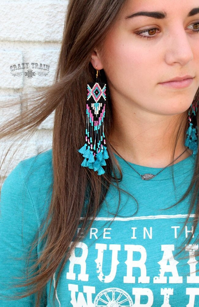 Pocahontas Turquoise Earrings
