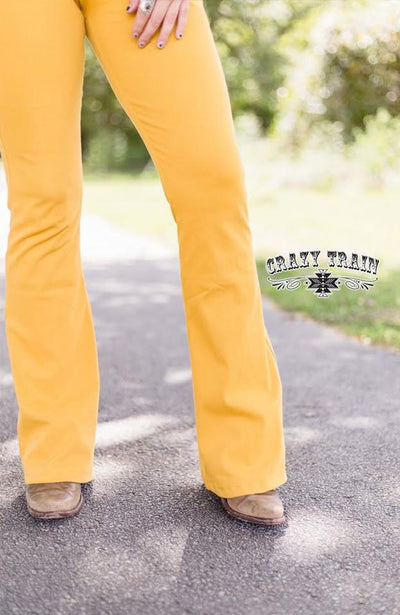 That 90's Show Mustard Flare Pants
