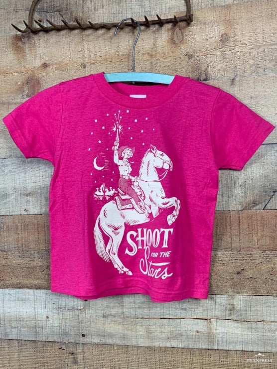 Shoot For The Stars Kids Tee