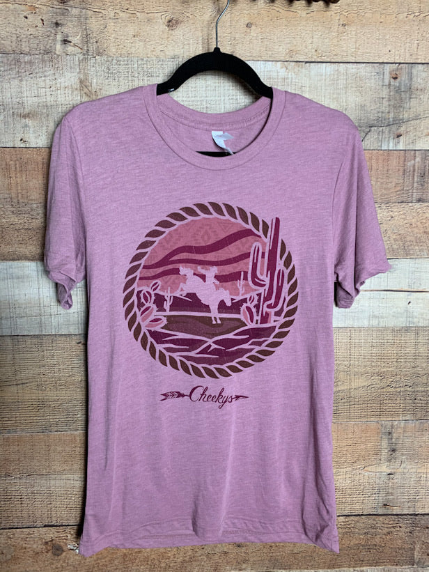 Desert Ride Bucking Bronc Tee