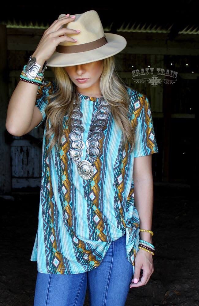 Must Have Serape Knot Top