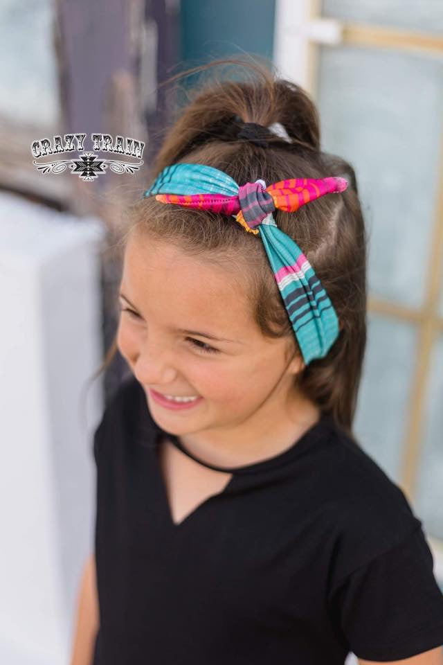 River Rat Serape Kids Headband