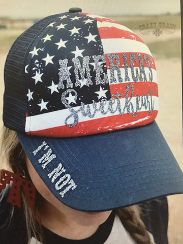 Not Americas Sweetheart Cap