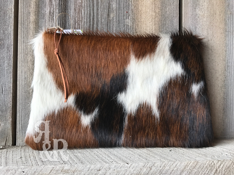 Cowhide Bag - Ropes and Rhinestones