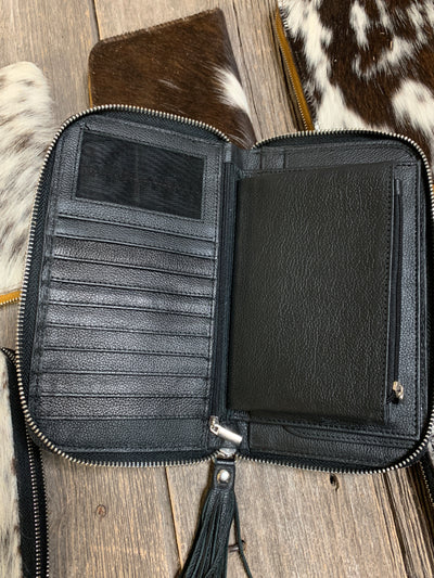 Cowhide Sidekick Wallet