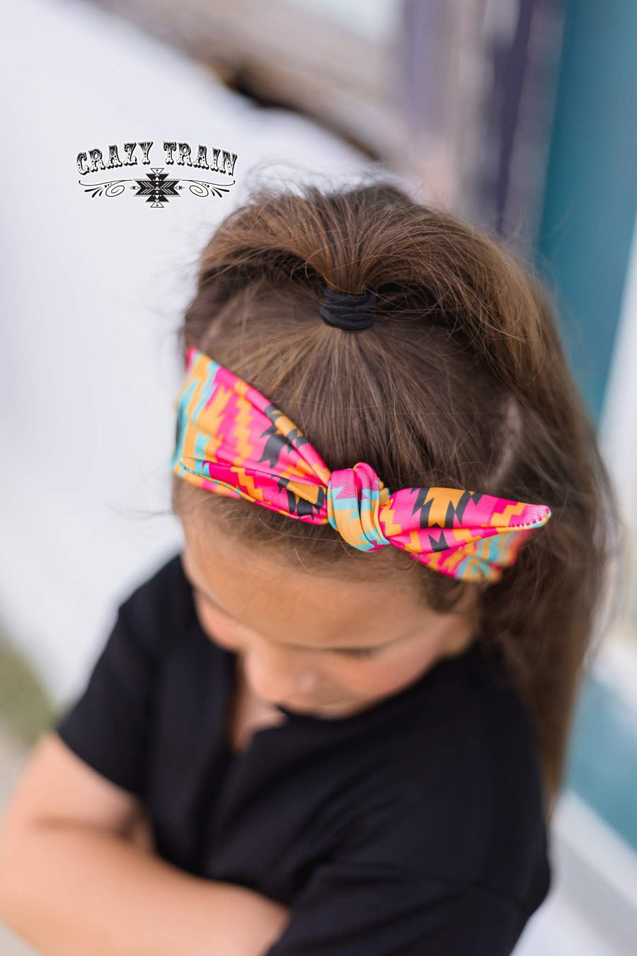 Sun Tan Aztec Kids Headband