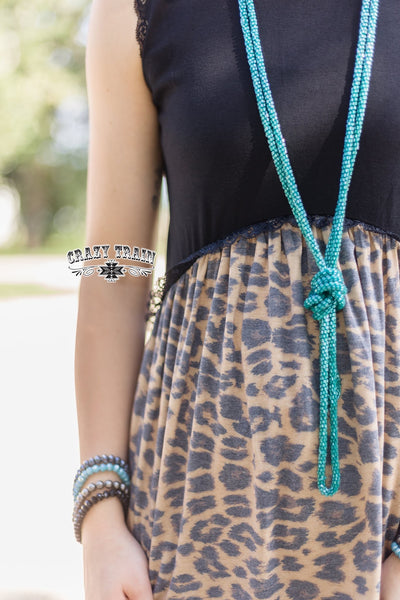 Diamond Flow Leopard Tank Top