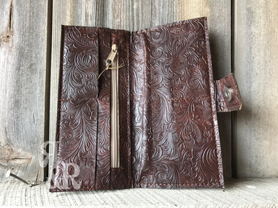 Cowhide or Gator Print Wallet - Ropes and Rhinestones