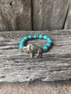 Buffalo Turquoise Bracelet - Ropes and Rhinestones