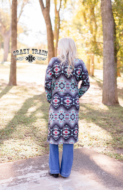 Cattle Ranch Aztec Cardigan