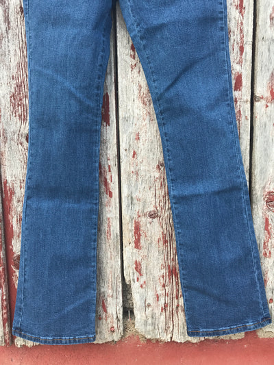 Boot Cut Medium Wash Jeans - Ropes and Rhinestones