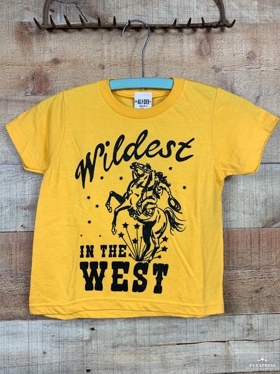 Wildest In The West Kids Tee