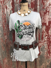 Desert Dreamin Tee - Ropes and Rhinestones
