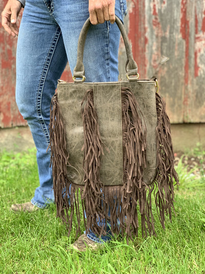 Fringe For Days Purse