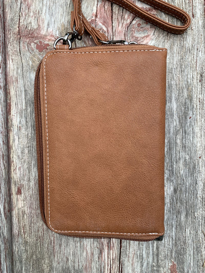 Tooled Phone Case & Cross Body Wallet