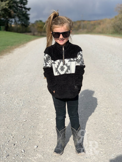 Kids Navajo Nights Aztec Pullover