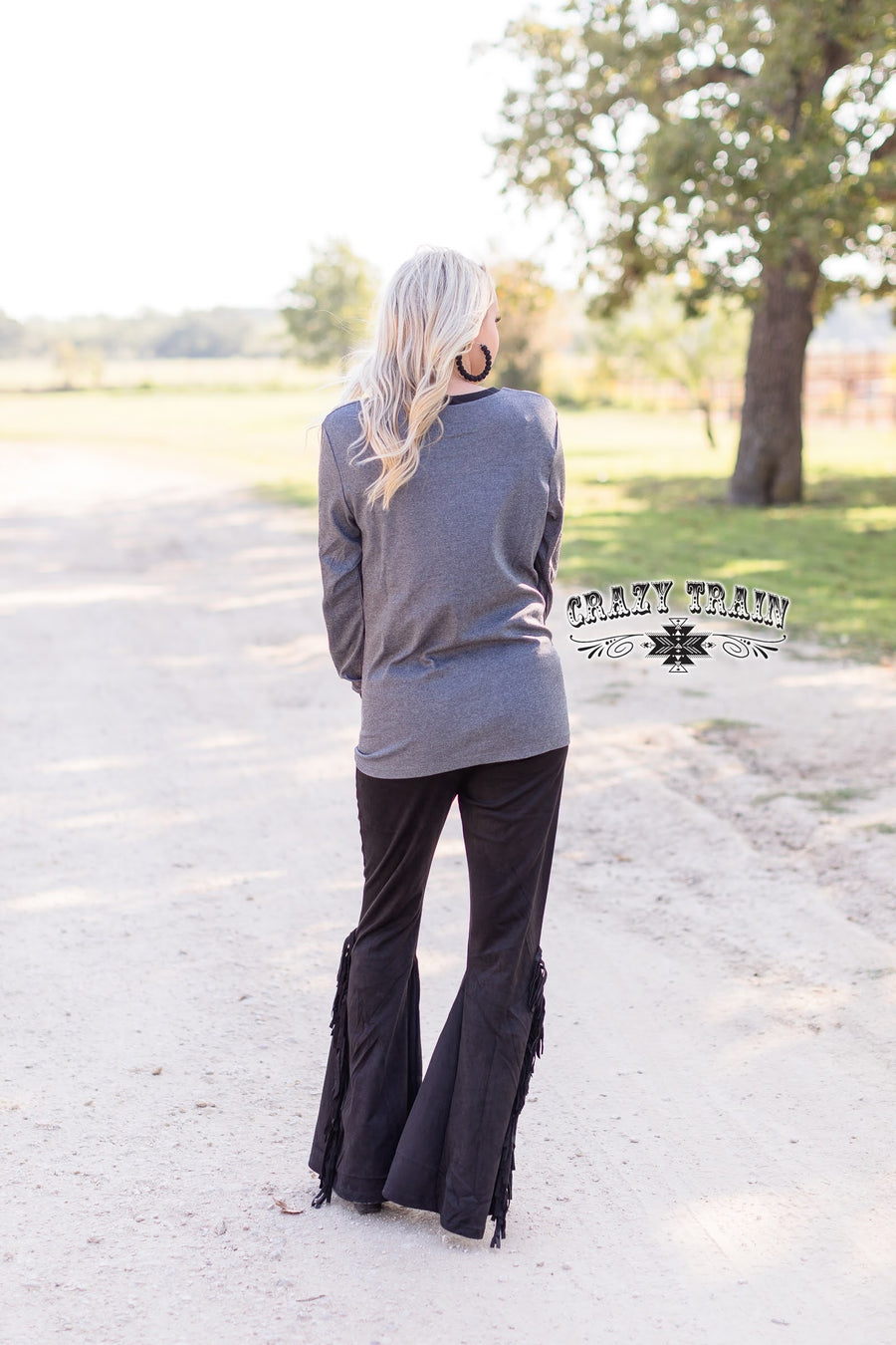Bombshell Britches Flares Black