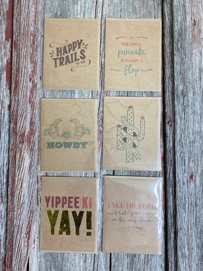 Western Greeting Cards