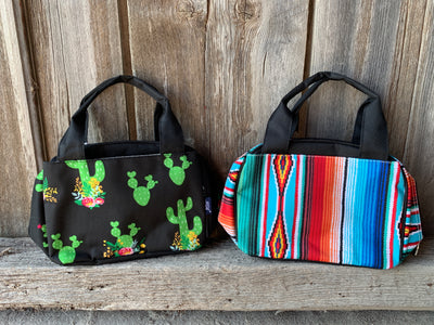 Cactus Double Handle Lunch Bag