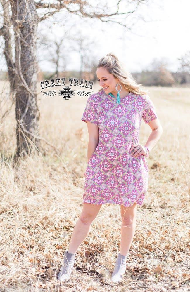 Bonita Floral Dress - Ropes and Rhinestones