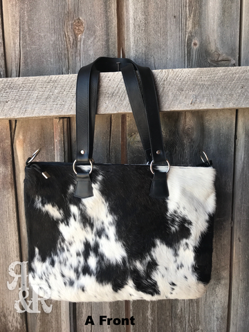 Cowgirl Cowhide Tote - Ropes and Rhinestones