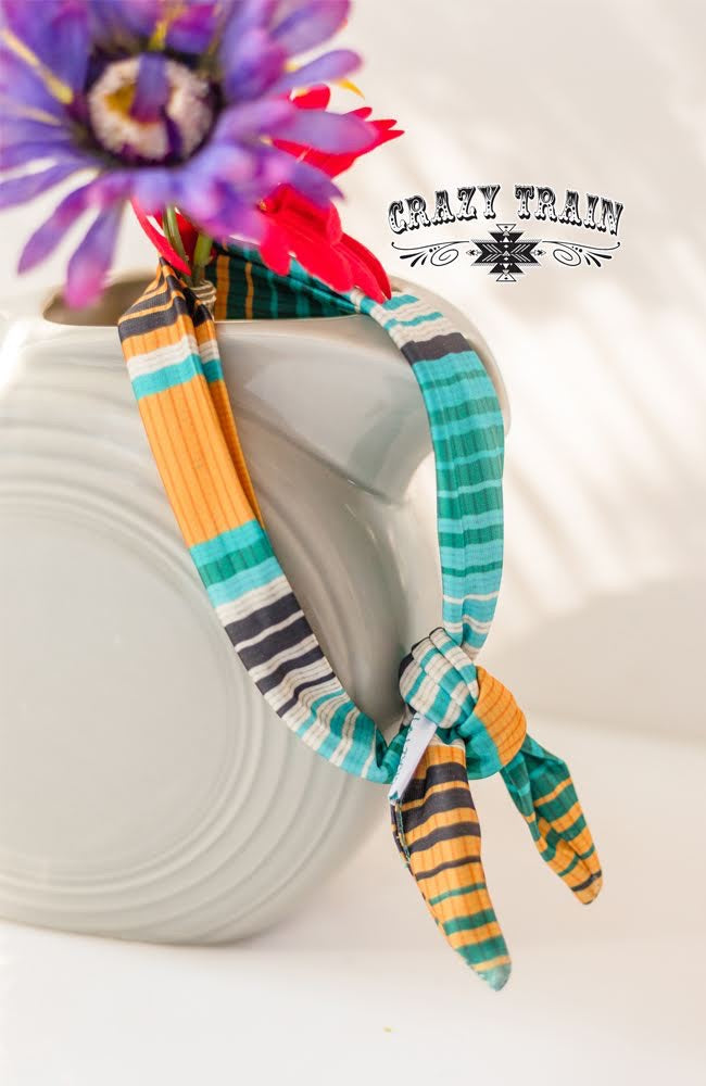 Hampton Serape Kids Headband